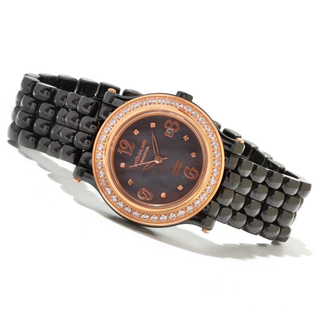 625-264 - Stührling Original Women's Grace Bracelet Watch Made with Swarovski® Elements