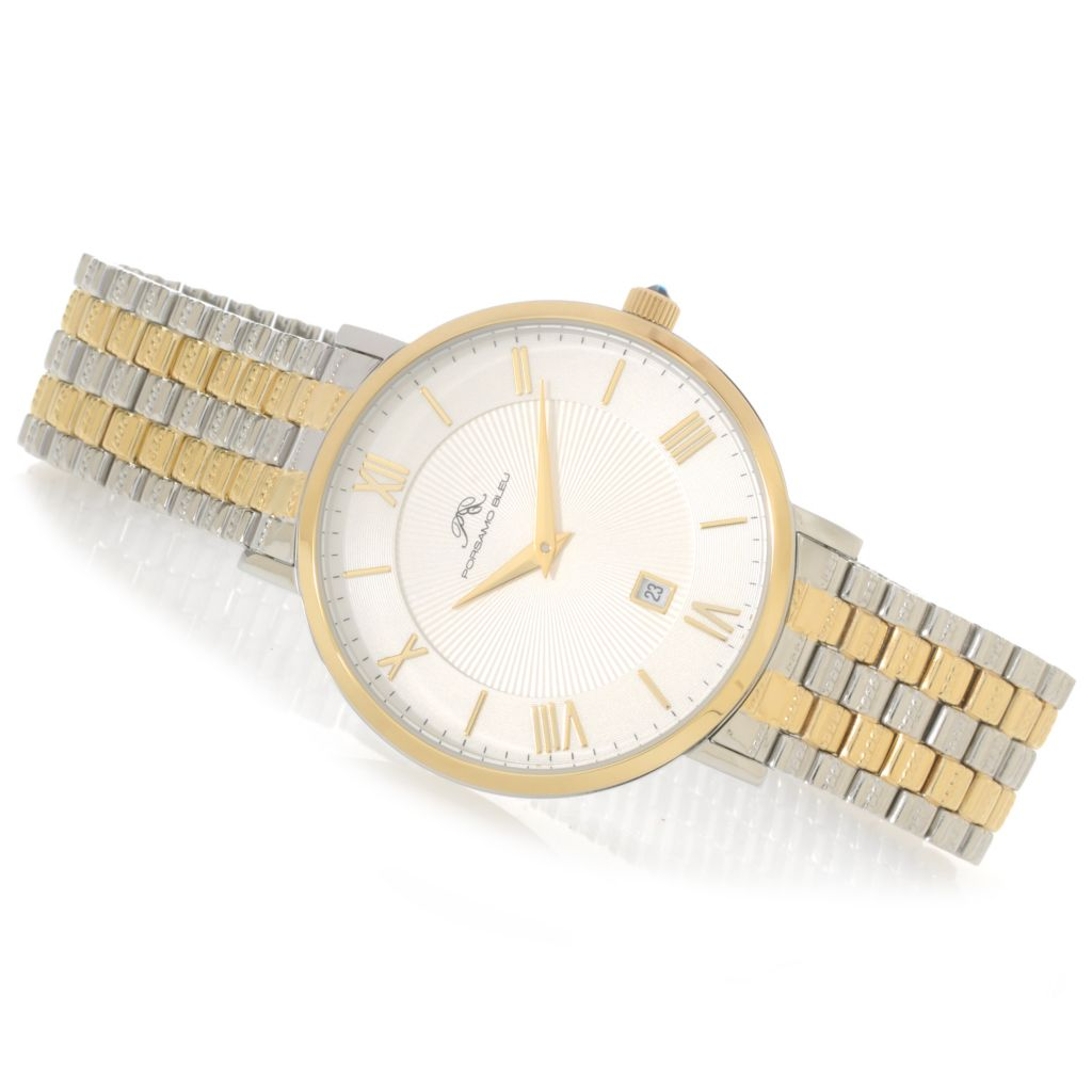 625-522 - Porsamo Bleu Women's Antonia Quartz Watch Made w/ Swarovski® Elements