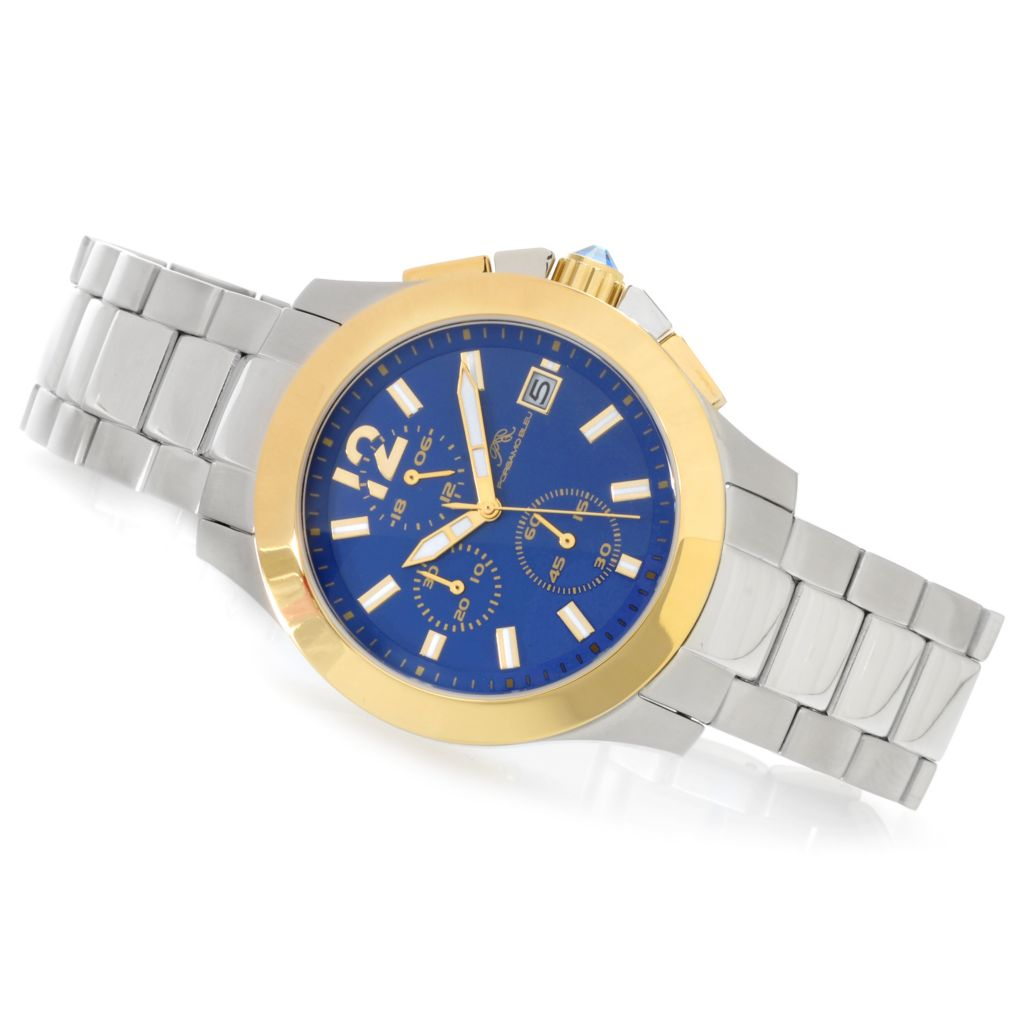 625-526 - Porsamo Bleu 41mm Harper Bracelet Watch Made w/ Swarovski® Elements