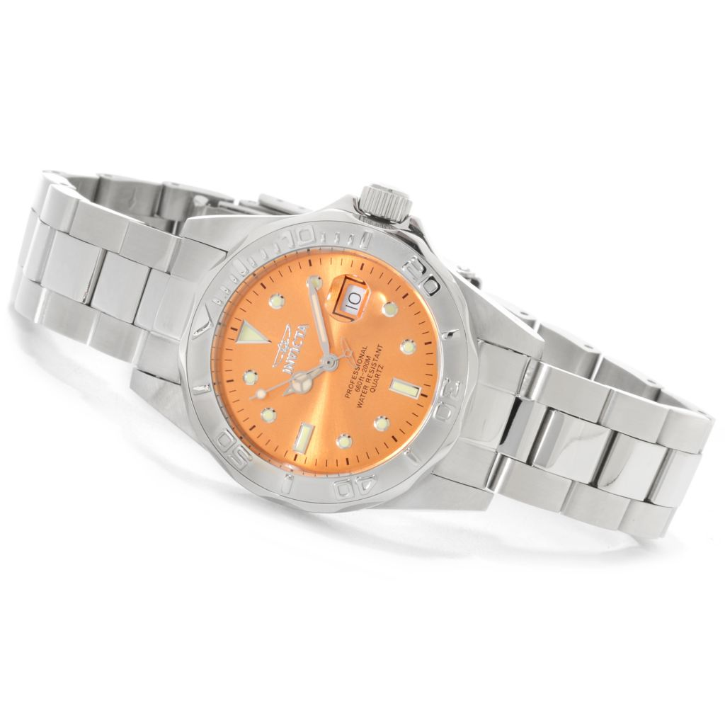 625-586 - Invicta Women's Pro Diver Quartz Stainless Steel Bracelet Watch