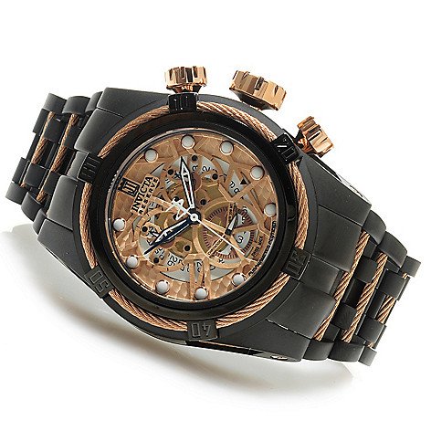 625-637 - Invicta Reserve 52mm Jason Taylor Bolt Zeus Swiss Made COSC Quartz Bracelet Watch