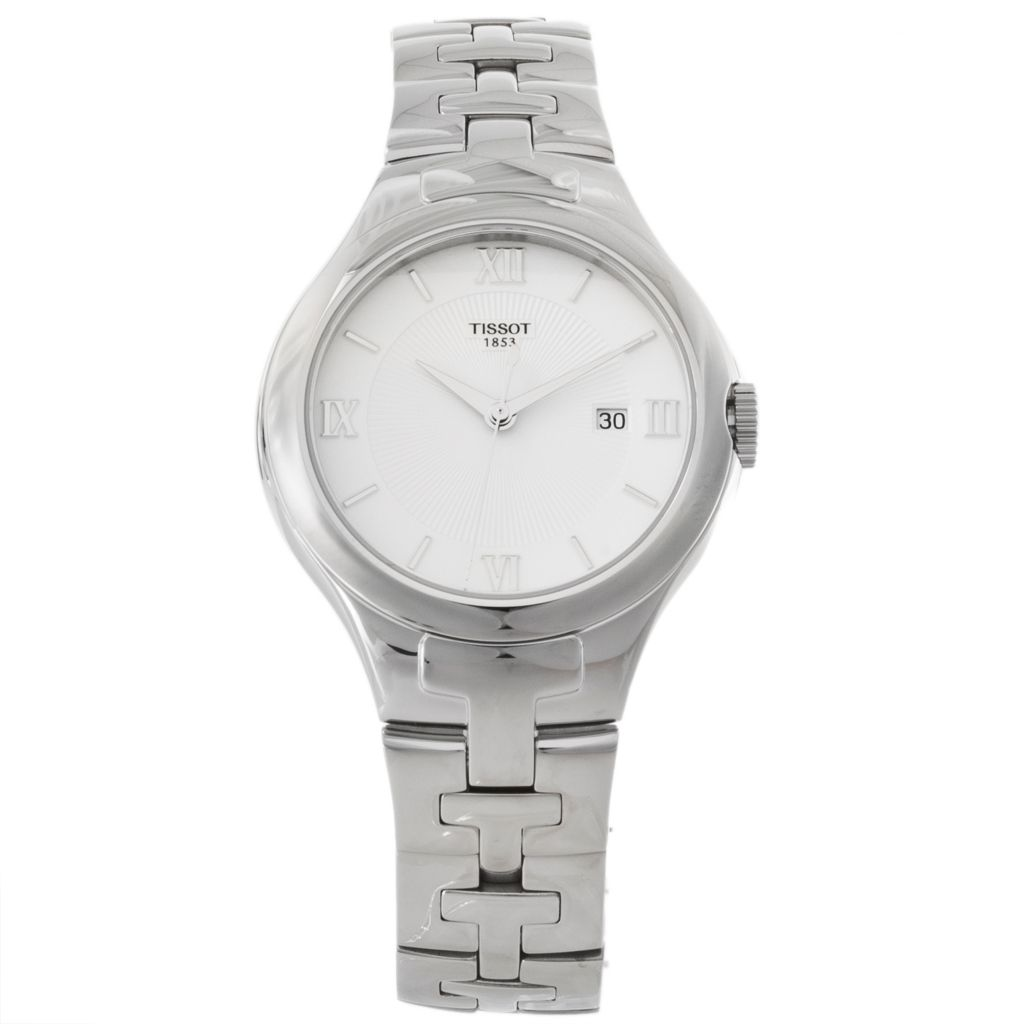 625-674 - Tissot Women's T-12 Swiss Made Quartz Stainless Steel Bracelet Watch