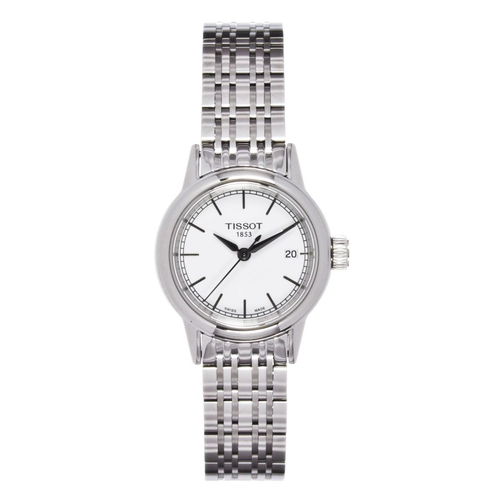 625-683 - Tissot Women's Carson Quartz Stainless Steel Bracelet Watch