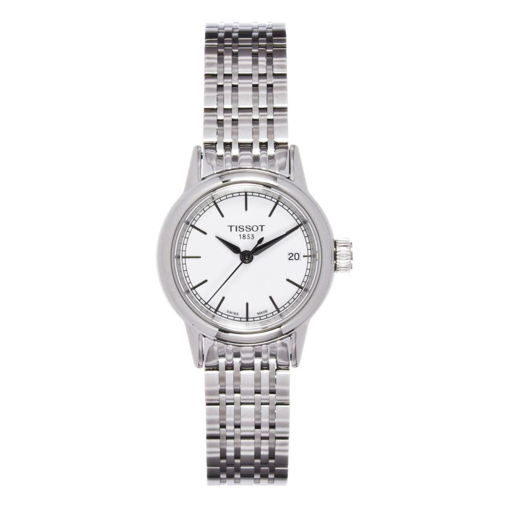 625-683 - Tissot Women's Carson Quartz Stainless Steel Bracelet Watch