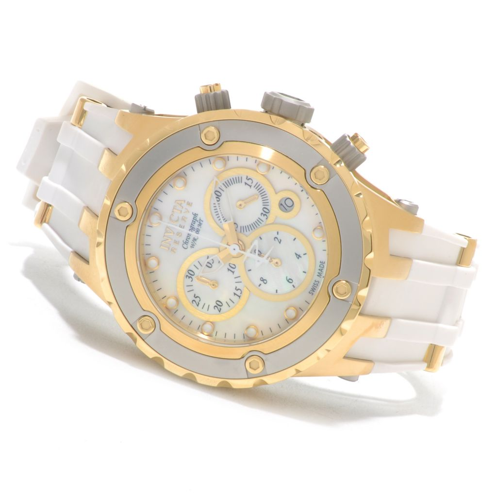 625-750 - Invicta Reserve 44mm Specialty Subaqua Swiss Made Rubber Strap Watch