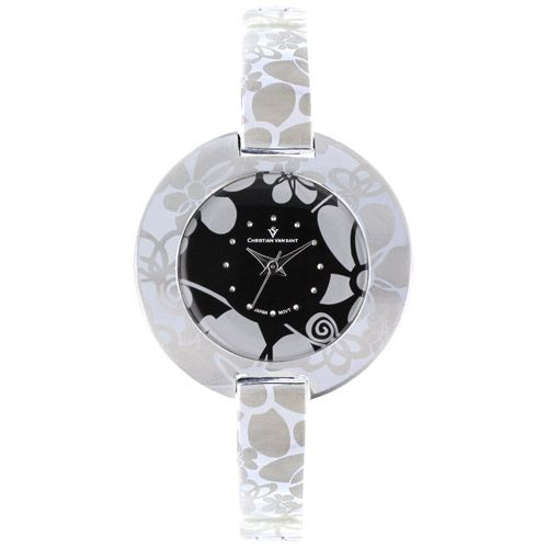 625-784 - Christian Van Sant Women's Candy Quartz Stainless Steel Bracelet Watch