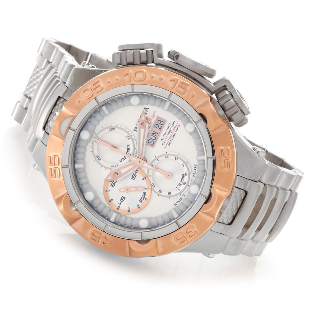 625-837 - Invicta 50mm Subaqua Noma V Swiss Automatic Chronograph Bracelet Watch