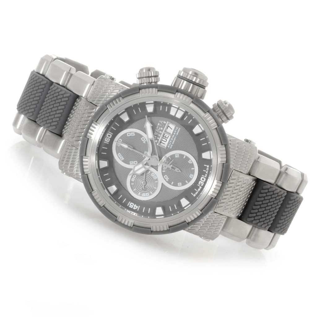 625-891 - Invicta Reserve 48mm Capsule Swiss Valjoux 7750 Bracelet Watch w/ One-Slot Dive Case