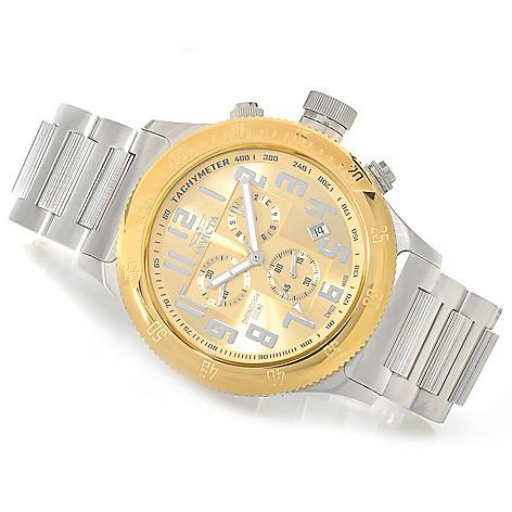 625-932 - Invicta 52mm Russian Diver Swiss Made Quartz Stainless Steel Bracelet Watch