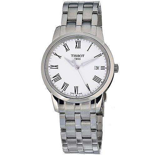 625-955 - Tissot 38mm Classic Dream Swiss Quartz Stainless Steel Bracelet Watch