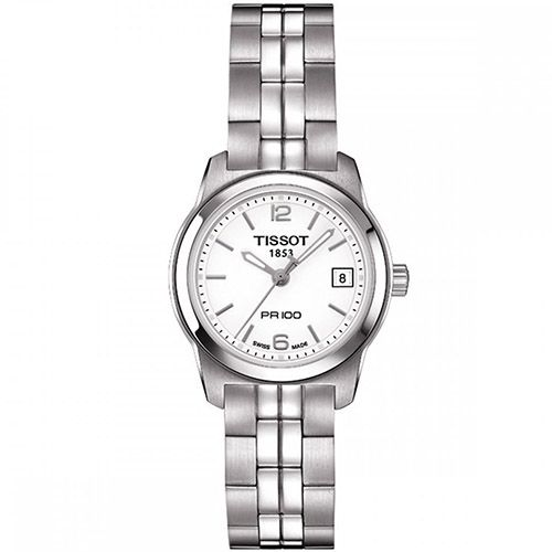 625-957 - Tissot Women's PR 100 Swiss Quartz Stainless Steel Bracelet Watch