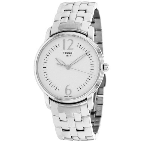 625-958 - Tissot Women's Round Swiss Quartz Stainless Steel Bracelet Watch