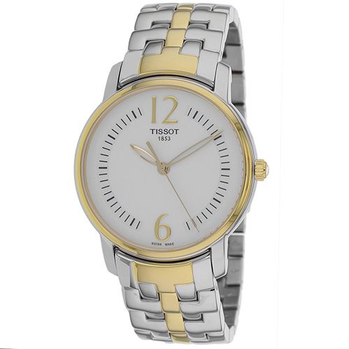 625-960 - Tissot Women's Round Swiss Quartz Stainless Steel Bracelet Watch