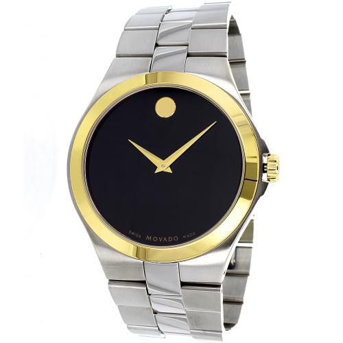 625-964 - Movado 40mm Classic Swiss Quartz Stainless Steel Bracelet Watch