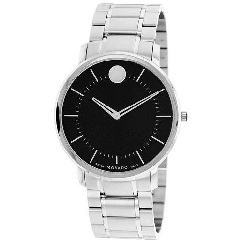 625-967 - Movado 40mm TC Swiss Quartz Stainless Steel Bracelet Watch
