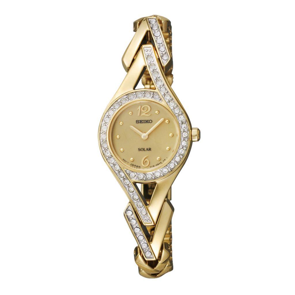 626-058 - Seiko Women's Core Solar Quartz Stainless Steel Bracelet Watch