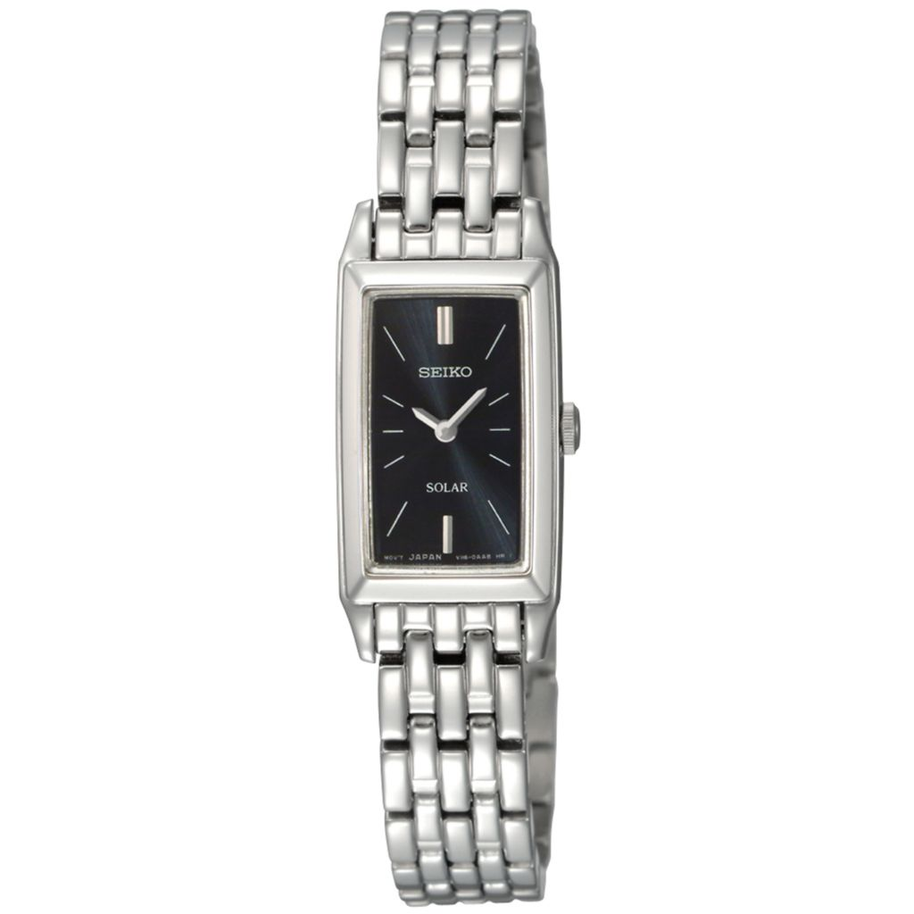 626-061 - Seiko Women's Core Solar Quartz Stainless Steel Bracelet Watch