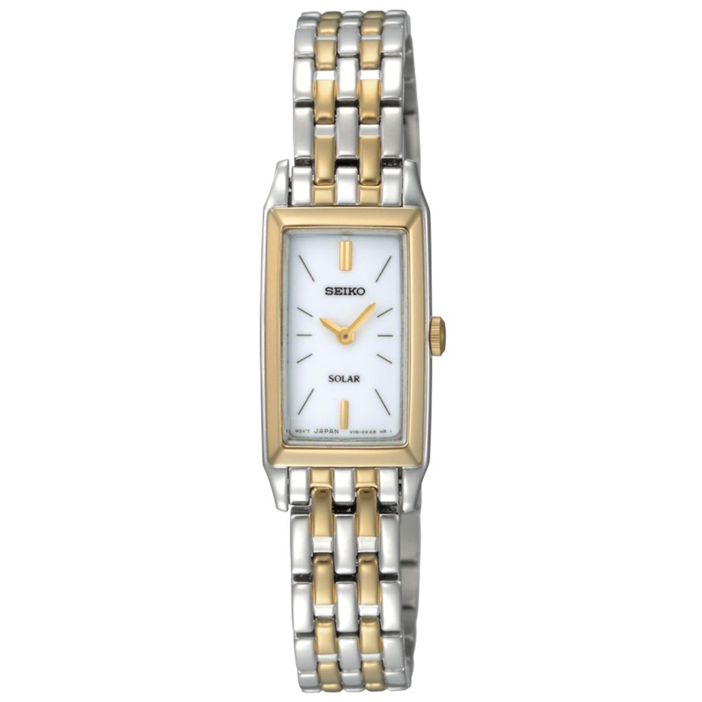 626-071 - Seiko Women's Core Solar Quartz Two-tone Stainless Steel Bracelet Watch