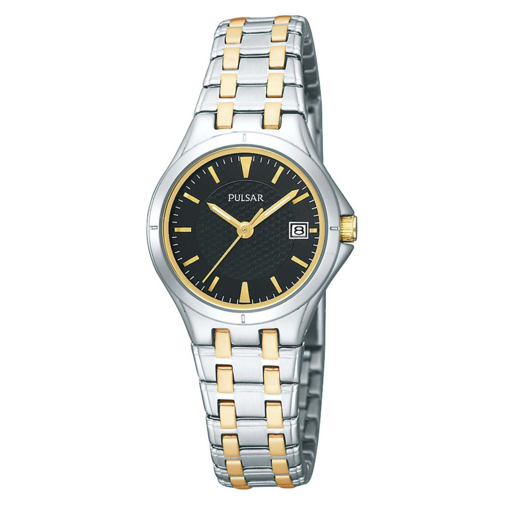 626-091 - Pulsar Women's Easy Style Quartz Stainless Steel Bracelet Watch