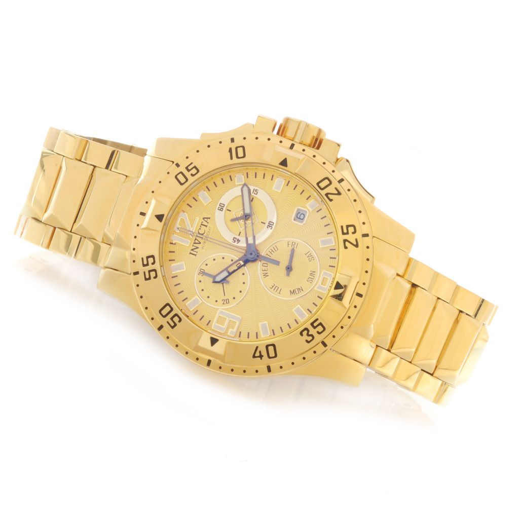 626-145 - Invicta Women's Excursion Quartz Chronograph Stainless Steel Bracelet Watch