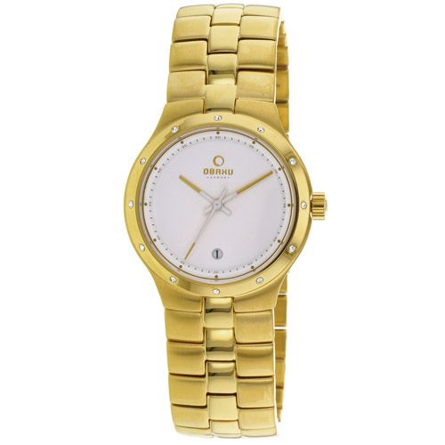 626-153 - Obaku Women's Harmony Quartz Gold-tone Stainless Steel Bracelet Watch