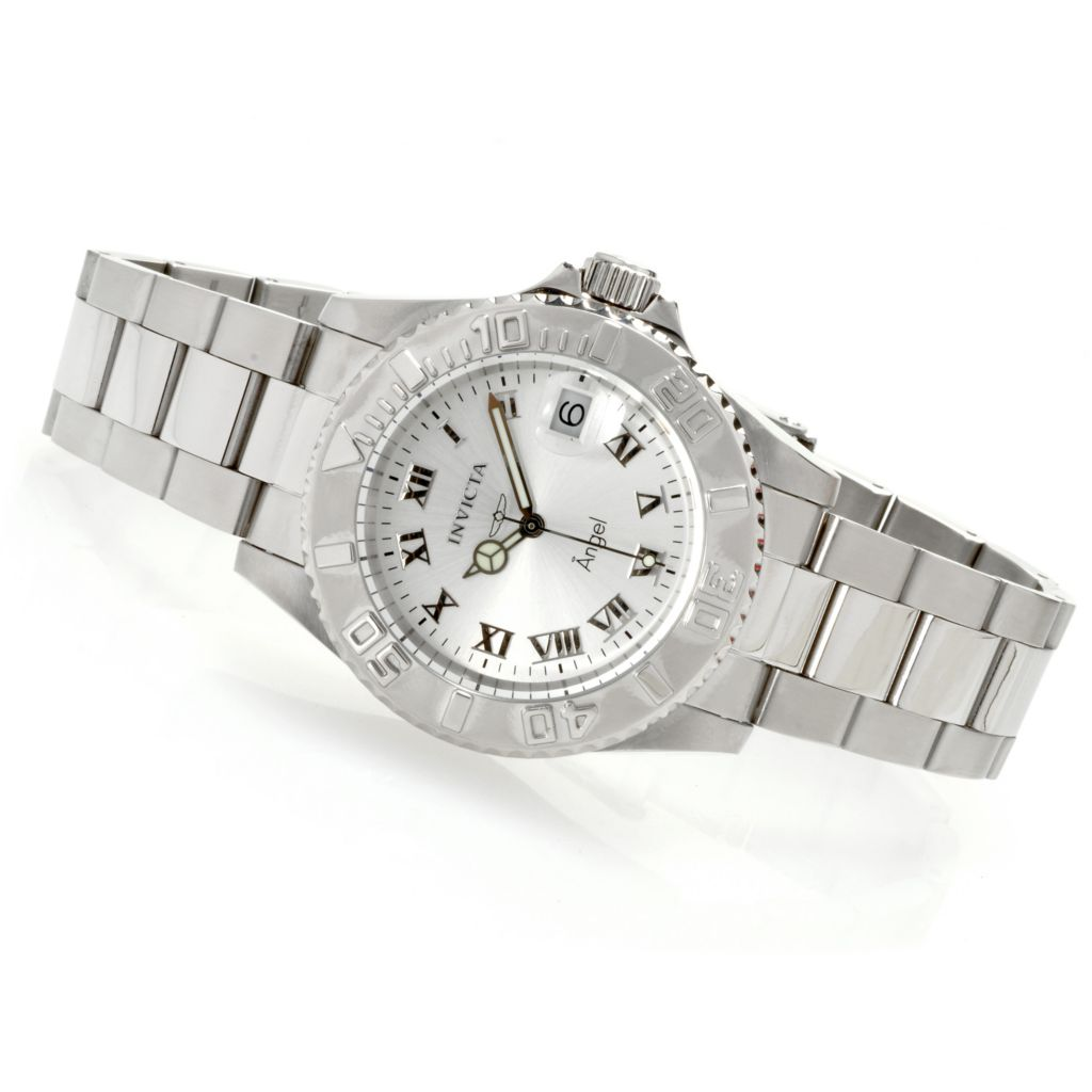 626-188 - Invicta Women's Angel Diver Quartz Stainless Steel Bracelet Watch