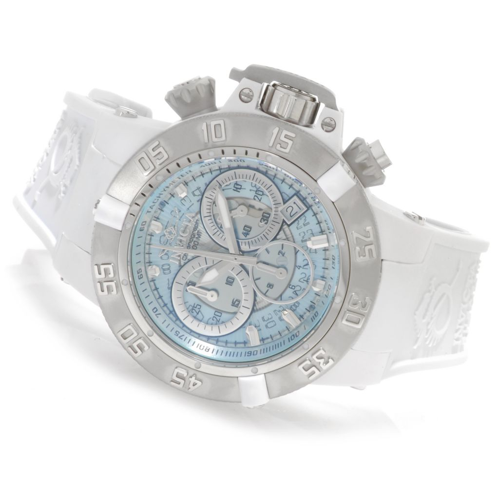 626-189 - Invicta Women's Subaqua Noma III Anatomic Quartz Chronograph Silicone Strap Watch