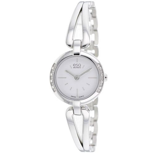 626-223 - ESQ Movado Women's Corbel Swiss Quartz Diamond Accented Bezel Bracelet Watch
