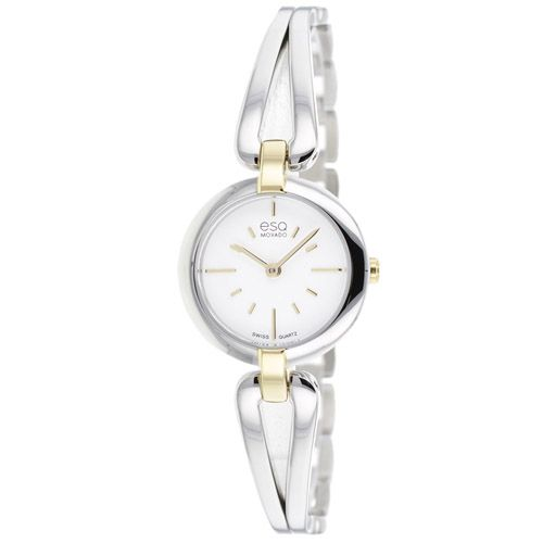 626-224 - ESQ Movado Women's Corbel Swiss Quartz Two-Tone Bracelet Watch