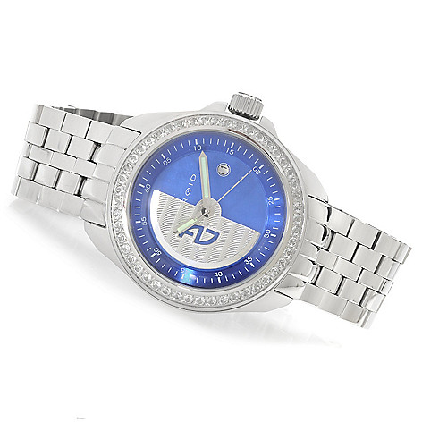 626-310 - Android 49mm Rotator Limited Edition Automatic Gemstone Accented Bracelet Watch