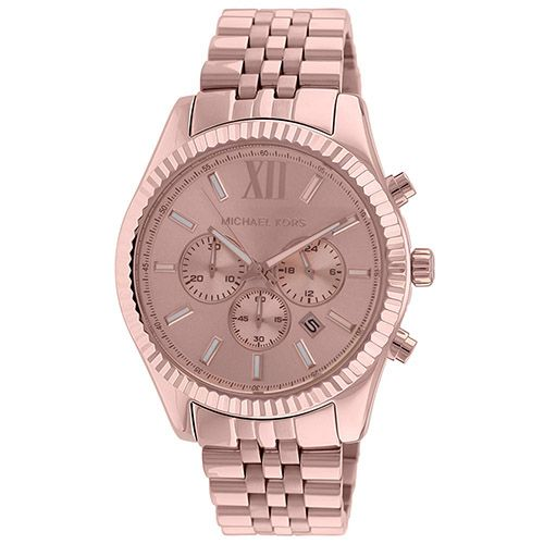 626-347 - Michael Kors Women's Lexington Quartz Chronograph Stainless Steel Bracelet Watch