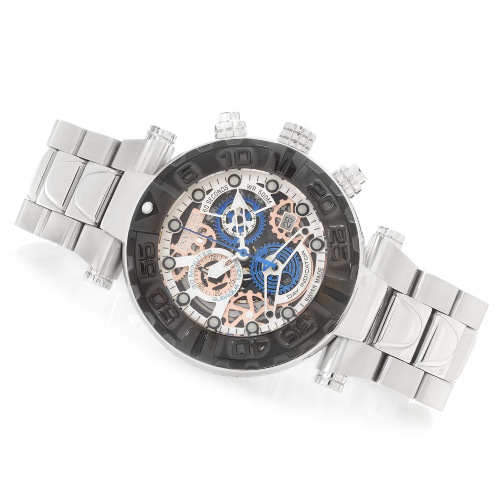 626-355 - Invicta Reserve 47mm Subaqua Noma I Swiss Made Quartz Chronograph Bracelet Watch