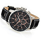 626-367 - Invicta 48mm S1 Rally GPX Quartz Chronograph Leather Strap Watch w/ Three-Slot Dive Case
