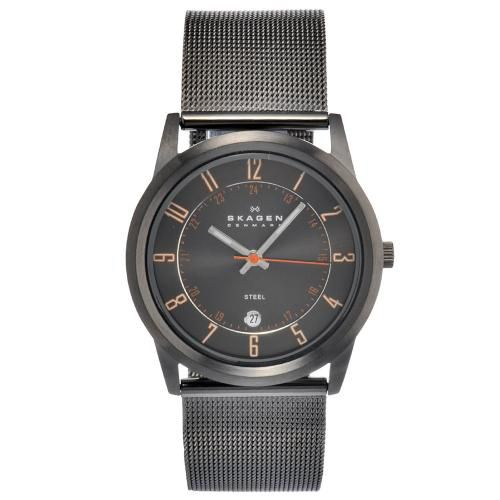 626-422 - Skagen 38mm Steel Quartz Stainless Steel Mesh Bracelet Watch