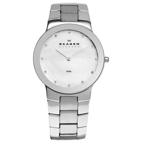 626-430 - Skagen 35mm Steel Quartz Stainless Steel Bracelet Watch