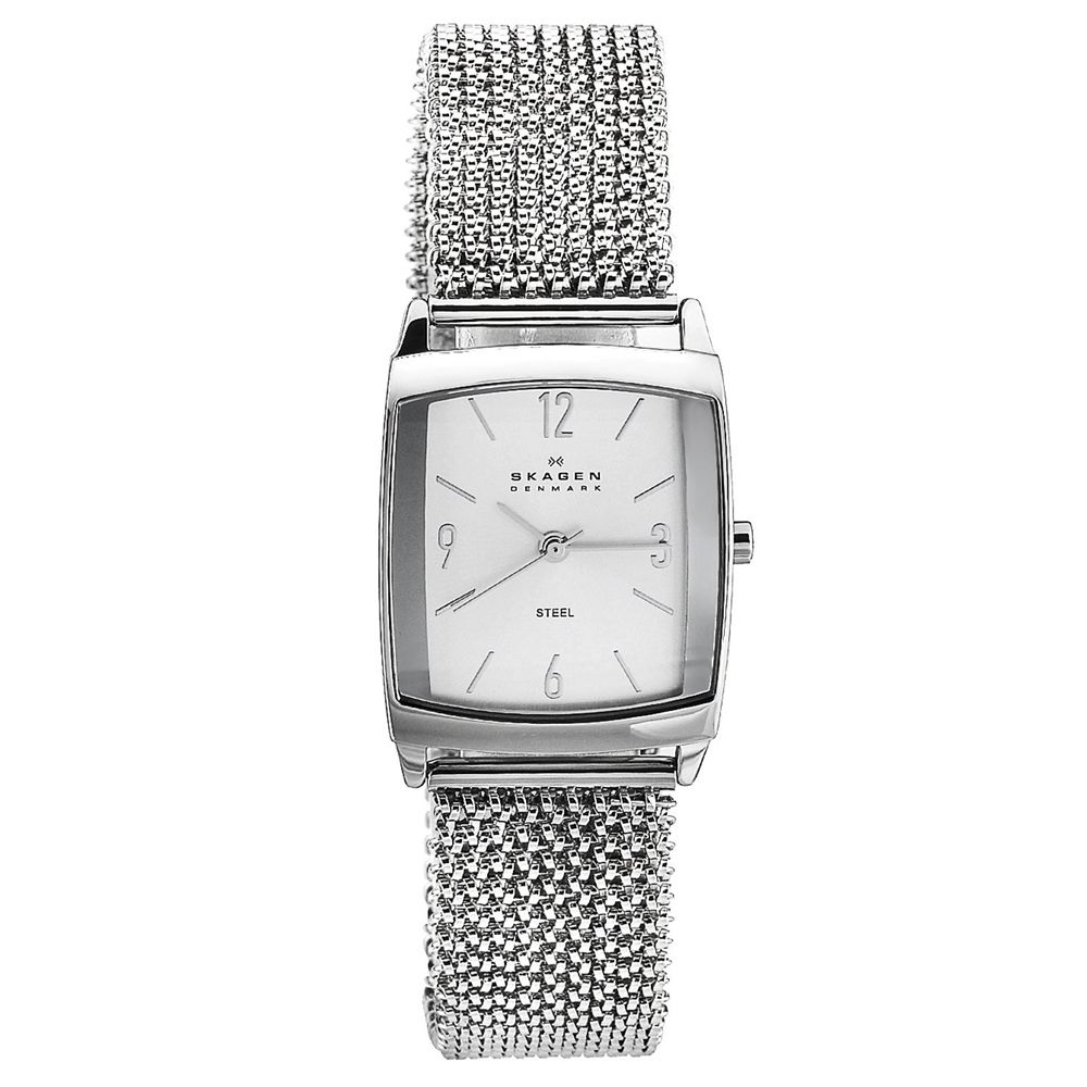 626-434 - Skagen Women's Classic Quartz Stainless Steel Mesh Stretch Bracelet Watch