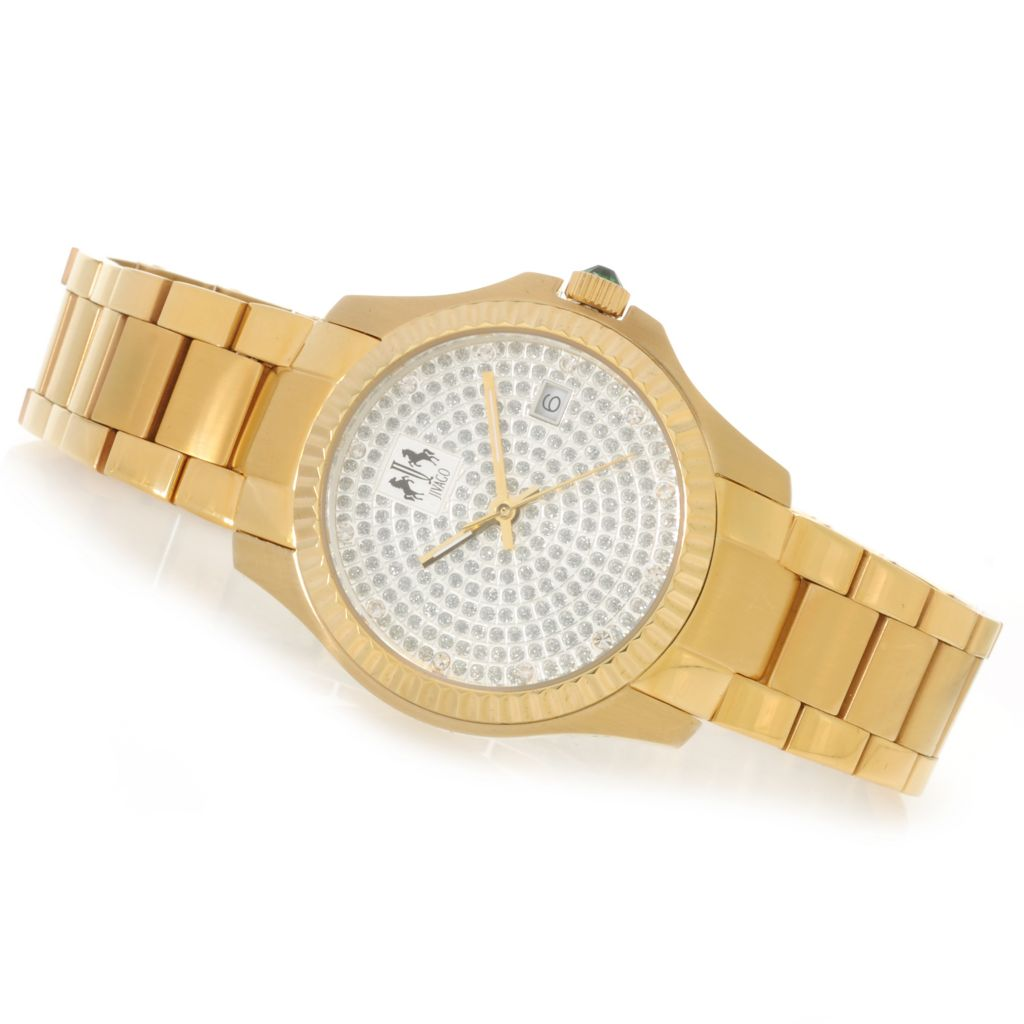 626-505 - Jivago Women's Jolie Quartz Stainless Steel Bracelet Watch