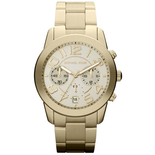 626-560 - Michael Kors 41.5mm Mercer Quartz Chronograph Stainless Steel Bracelet Watch