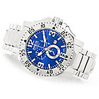 626-571 - Invicta Reserve 50mm Excursion Swiss Chronograph Bracelet Watch w/ Eight-Slot Dive Case