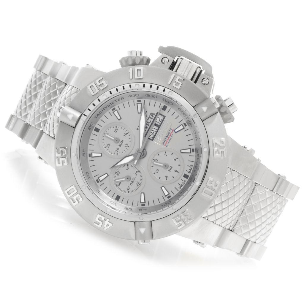626-647 - Invicta 50mm Subaqua Noma III Swiss Automatic SW500 Chronograph Bracelet Watch
