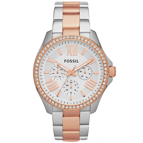 626-666 - Fossil Women's Cecile Quartz Multi Function Stainless Steel Bracelet Watch