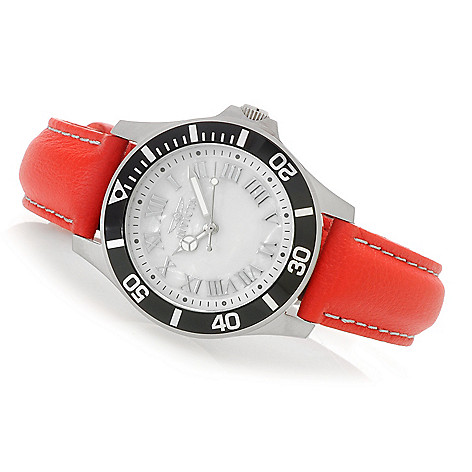 626-696 - Invicta Women's Pro Diver Quartz Stainless Steel Lorica Strap Watch