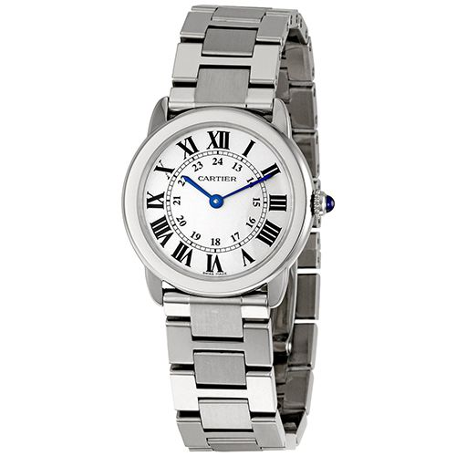 626-751 - Cartier Women's Ronde Solo Small Quartz Stainless Steel Bracelet Watch