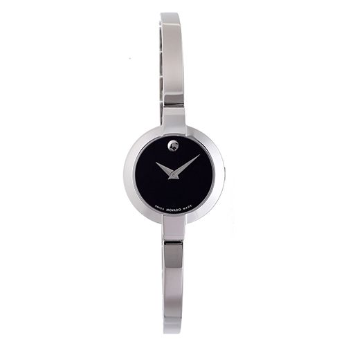 626-773 - Movado Women's Bela Swiss Quartz Stainless Steel Bangle Bracelet Watch