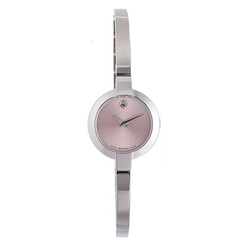 626-774 - Movado Women's Bela Swiss Quartz Stainless Steel Bangle Bracelet Watch