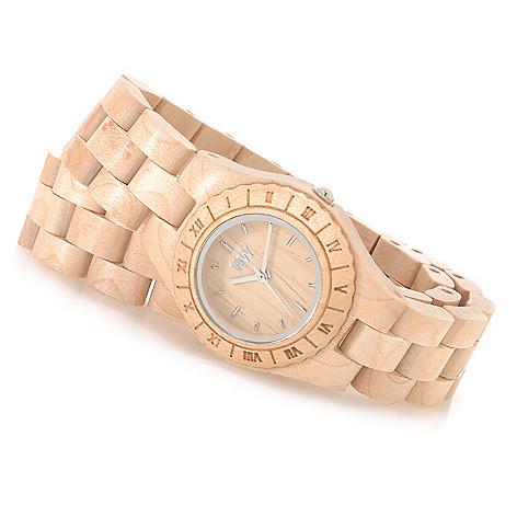 626-781 - WeWOOD Women's ''Venus'' Quartz Wooden Wrap Bracelet Watch