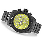 626-785 - Invicta 50mm Mobula Quartz Chronograph Ceramic Bracelet Watch w/ Eight-Slot Dive Case