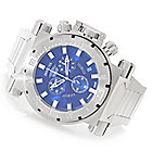 626-828 - Invicta 51mm Coalition Forces Swiss Made Quartz Chronograph Bracelet Watch w/ Three-Slot Dive Case
