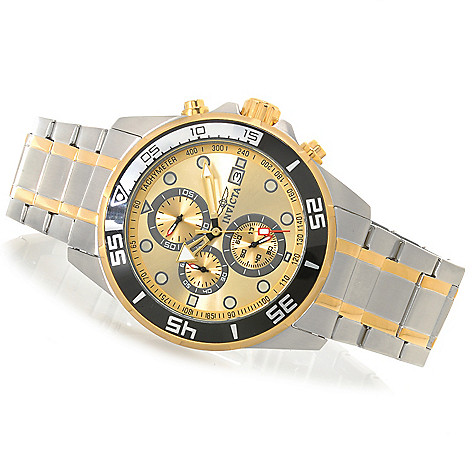 626-829 - Invicta 45mm Specialty Navigator Quartz Bracelet Watch w/ Eight-Slot Dive Case