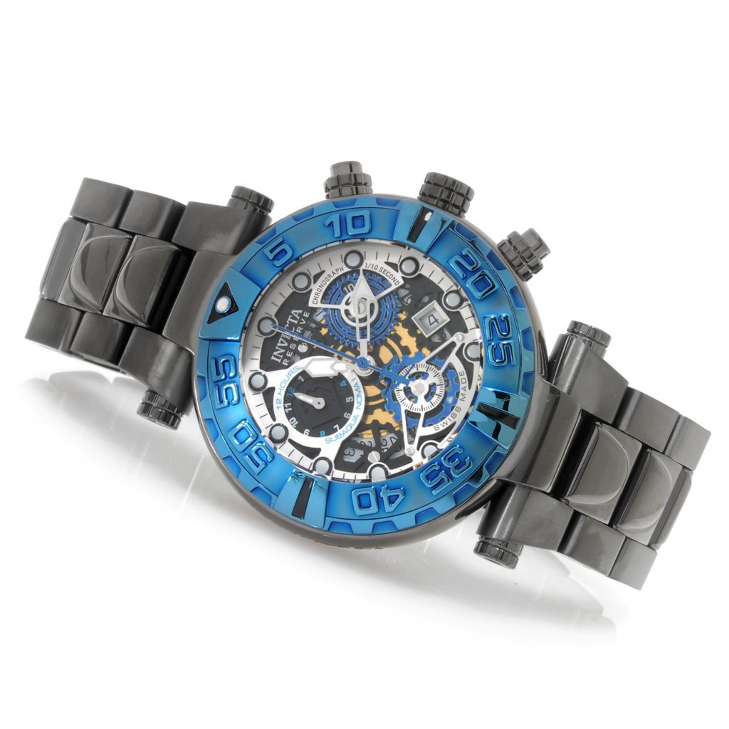 626-867 - Invicta Reserve 47mm Subaqua Noma I Swiss COSC Quartz Chronograph Bracelet Watch